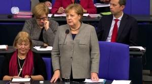 Merkel veroordeelt Amerikaanse sancties tegen Nord Stream 2