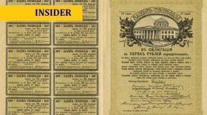 Wat is meer waard: garanties van de staat of goudstaven?