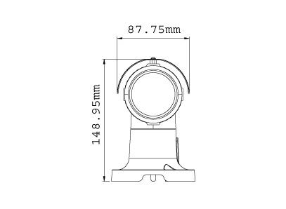 GeoVision Inc. GV-BL110D 1.3M H.264 D/N Bullet IP CAM