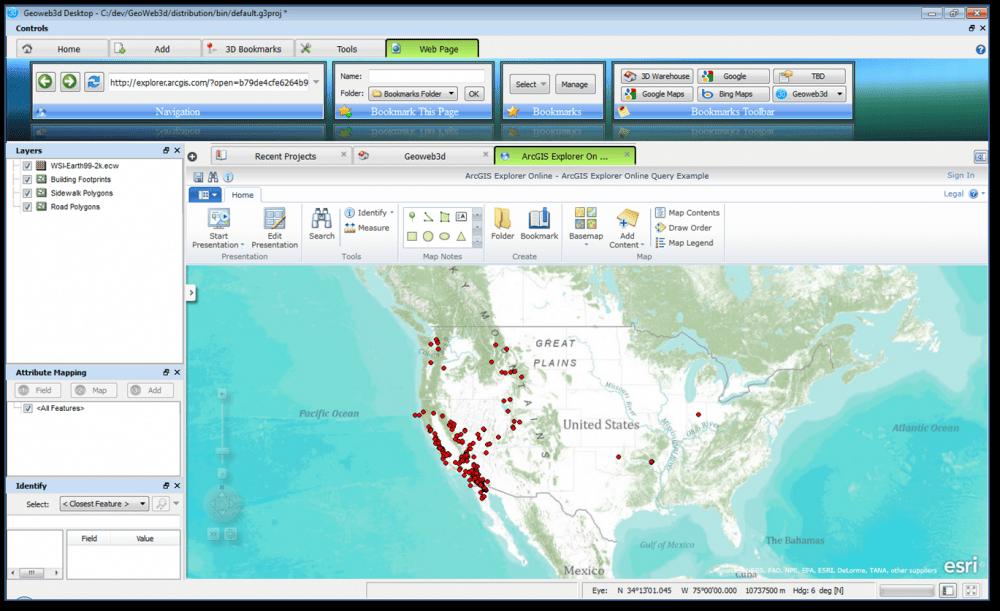 ArcGIS Views   Geoweb3d - 3D GIS Visualization
