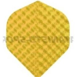 Hot foil iridescent embossed Yellow
