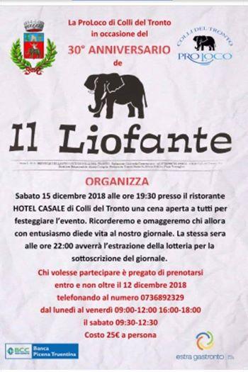Colli del Tronto festeggia il Liofante