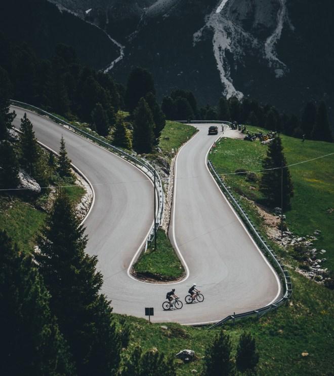 Dolomiten, Rennrad, Roadtrip, Pass, Hotel Melodia Del Bosco, geradeaus, Südtirol, Rennradblog, Urlaubtipps, Berge