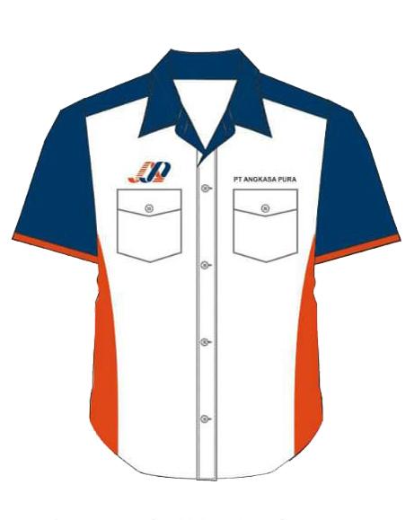 desain seragam kantor