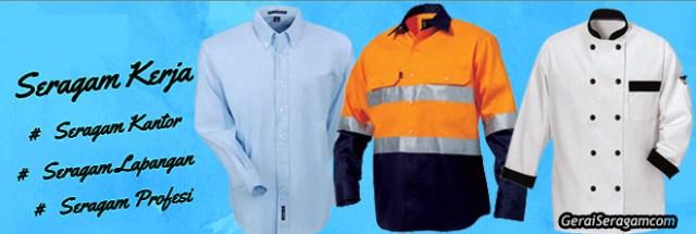 jenis baju seragam kerja