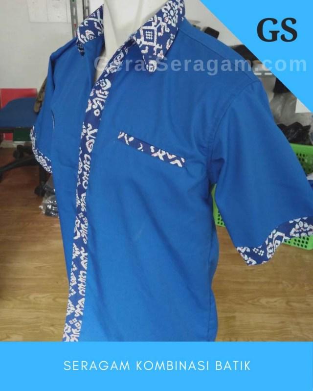 seragam kombinasi batik
