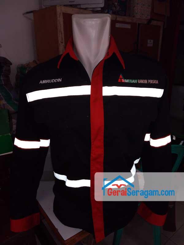 baju kerja scotlight nyala