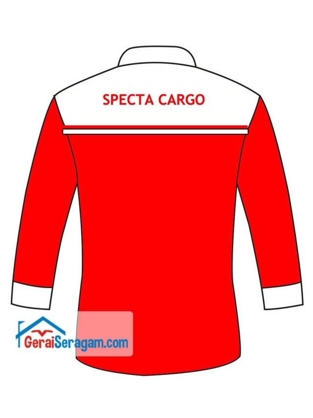 desain seragam kombinasi specta belakang