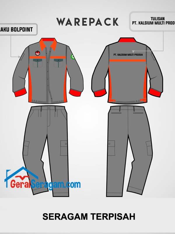 desain seragam safety terpisah