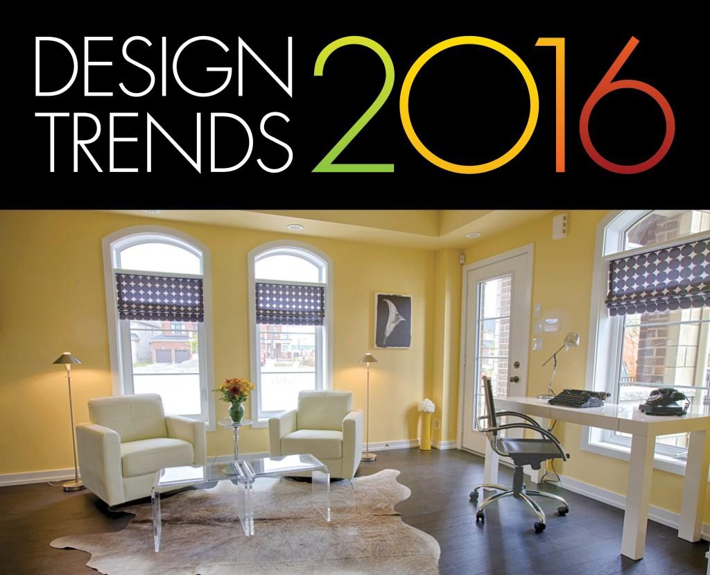 Six Home Dcor Trends for 2016  Geranium Blog
