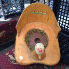 Old 1940s potty chair!