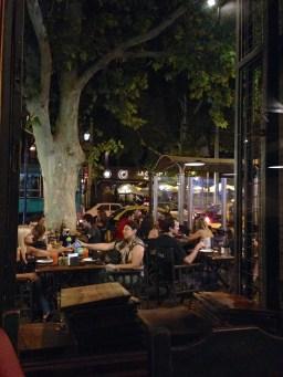 Mendoza at night