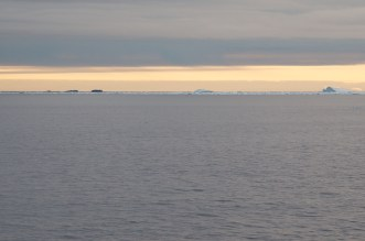Dawn Antarctic Sound