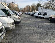 Vendor parking!