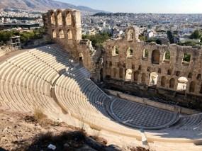 The Odeon of Herodes Atticus... aka Yanni theatre.