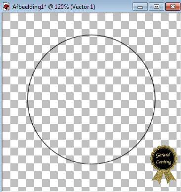In een Ronde Cirkel tekst maken