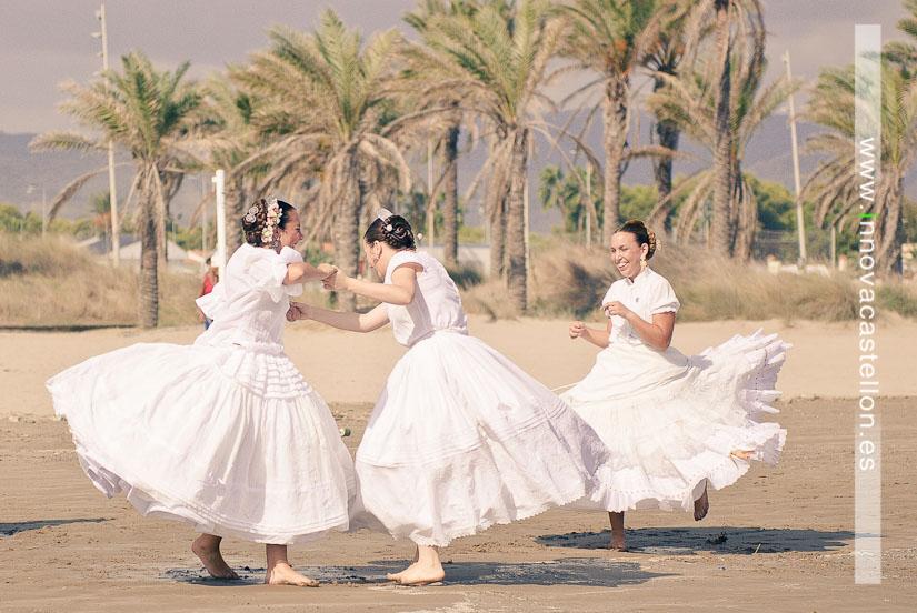 Sesión fotográfica en la playa, fotografías grupos regionales, Fotografo en castellón, Fotógrafo Gaitas Castellón (6)