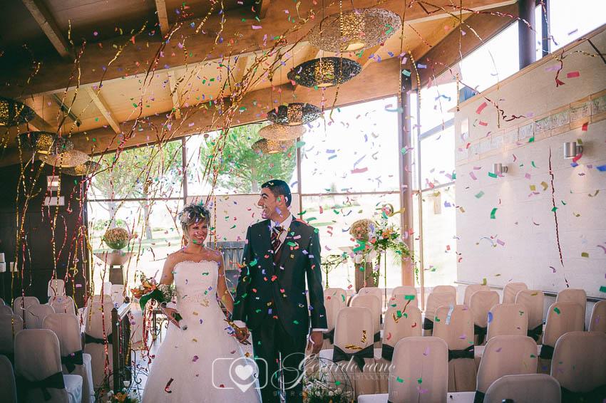 Confeti de boda León - Boda en el Cigarral de Cembranos