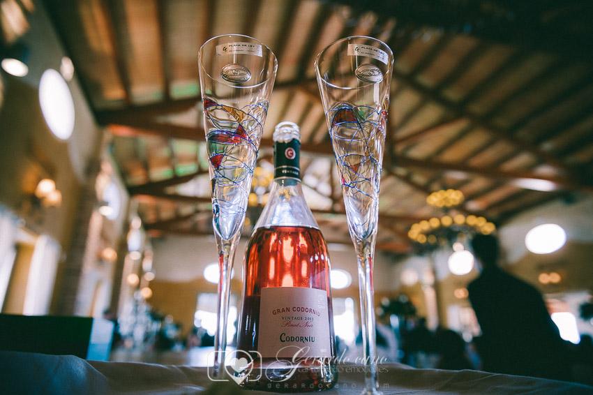 Aperitivos en Cigarral de Cembranos en León - Fotos boda
