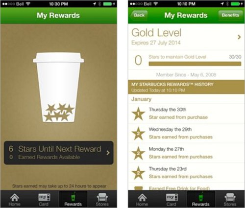 gamification starbucks