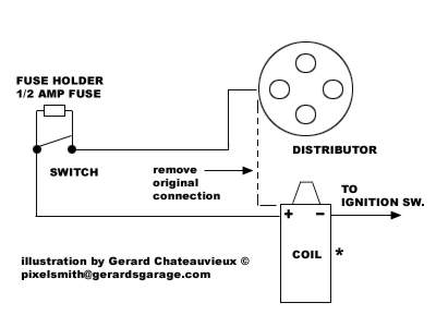 Positive Ground Distributor Diagram : 35 Wiring Diagram
