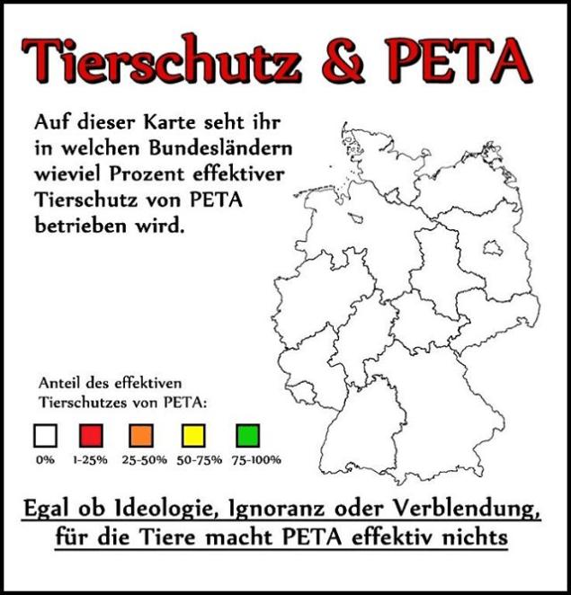 Wieviel Geld gibt PeTA Deutschland e.V. tatsächlich für Tiere aus