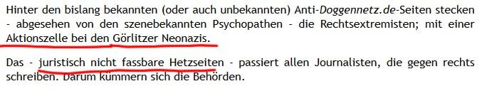 Screenshot aus AUA1457 von Doggennetz.de
