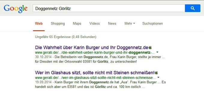 Ja wem meint denn da Frau Karin Burger mit Görlitzer Nazi?