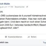 Friedrich Mülln äußert sich zu Abmahnungen