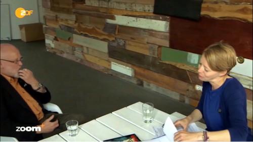 Haferbeck im Interview / Screenshot ZDF Mediathek
