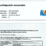 Vorsteher des Finanzamtes Leonberg lässt Anzeige gegen PeTA verschwinden und gibt Anweisungen auf Anfragen nicht zu reagieren