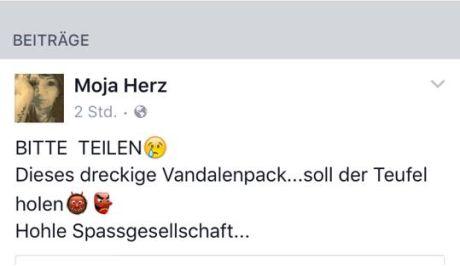 Grenzenlose Spendengeilheit / Screenshot: https://www.facebook.com/Wildtierhilfe-Hegau-Bodensee-623417017775141/?fref=ts
