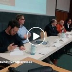 Interessante Podiumsdiskussion in Göttingen