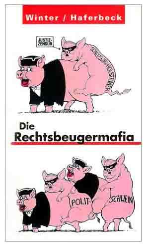 Statement von PeTA zum Freispruch des Göppinger Bauern / Foto: Buchcover Haferbeck / Rechtsbeugemafia