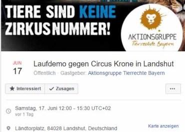 Der Reinfall von Landshut / Sreenshot Facebook