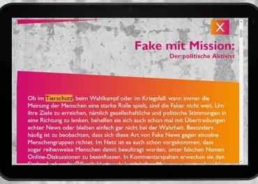Tierschutz News sind zum größten Teil Fake / Screenshot www.fakefilter.de