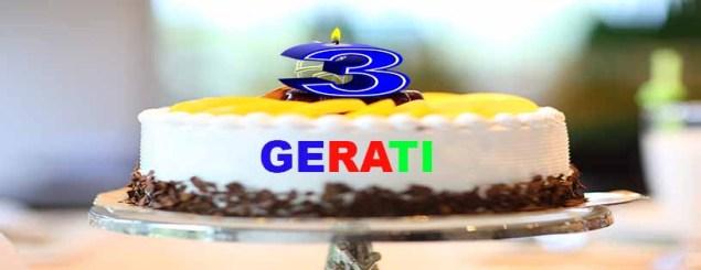 GERATI wird drei