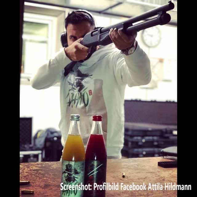 Attila Hildmann rastet aus und erteilt Journalisten Hausverbot / Screenshot Facebook Profilfoto Attila Hildmann