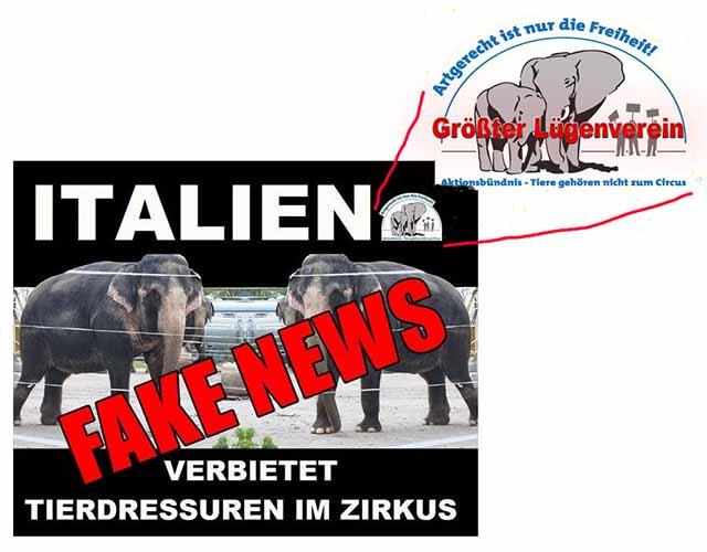 Aktionsbündnis - Größter Lügenverein