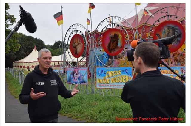 Screenshot Facebook Peter Hübner