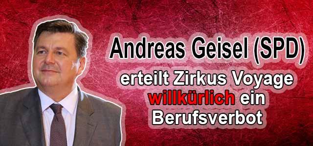 Willkür des Berliner Senates
