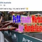 PeTA ist nun doch für Hundefleisch?!?