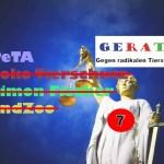 Ich soll PeTA als Steuerflüchtling bezeichnet haben – die Strafanzeigen von PeTA gegen GERATI (7)