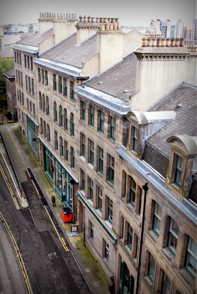 Akenside Hill from Tyne Bridge