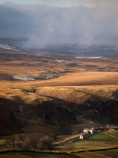 Clouds over Teesdale