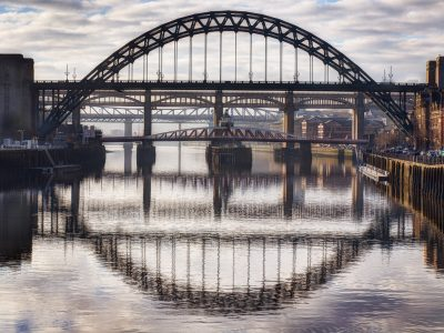 Tyne Bridge and Reflection