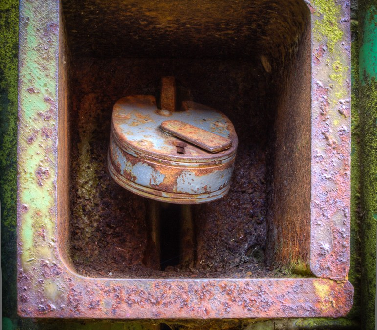 Rusty Container Lock