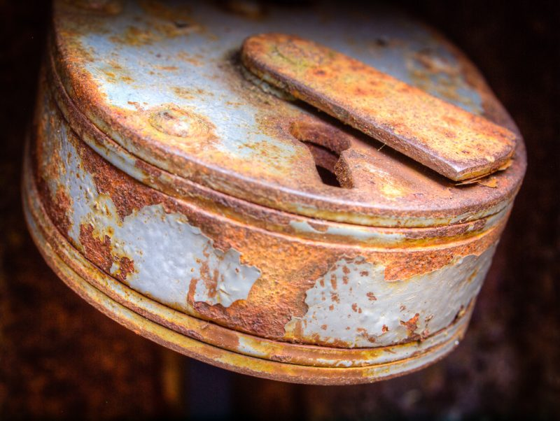 Rusty Container Lock #2