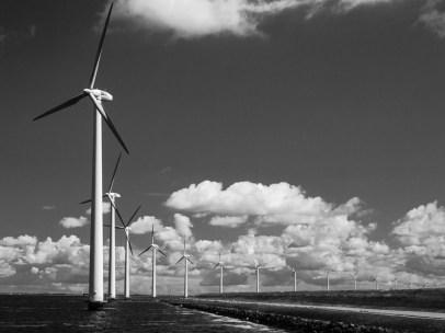 Windmills in Holland