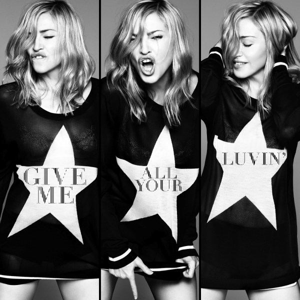"Madonna'dan Yeni Single: ""Give Me All Your Luvin"""